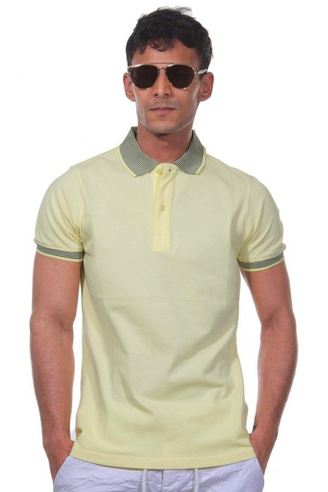 MCL Poloshirt in gelb