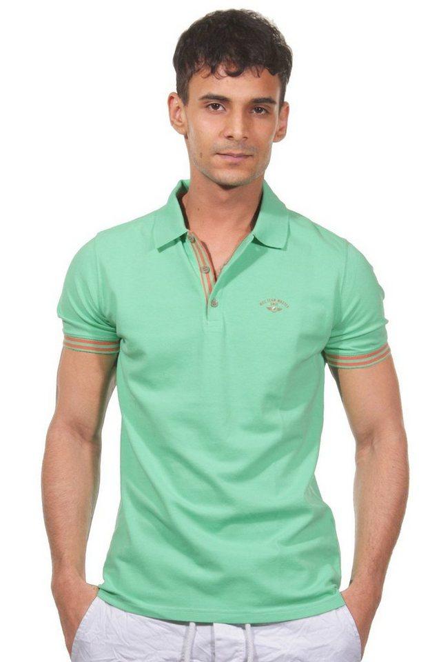 MCL Poloshirt in neongrün