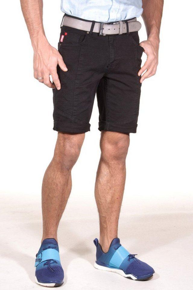 CATCH Denim-Shorts in schwarz