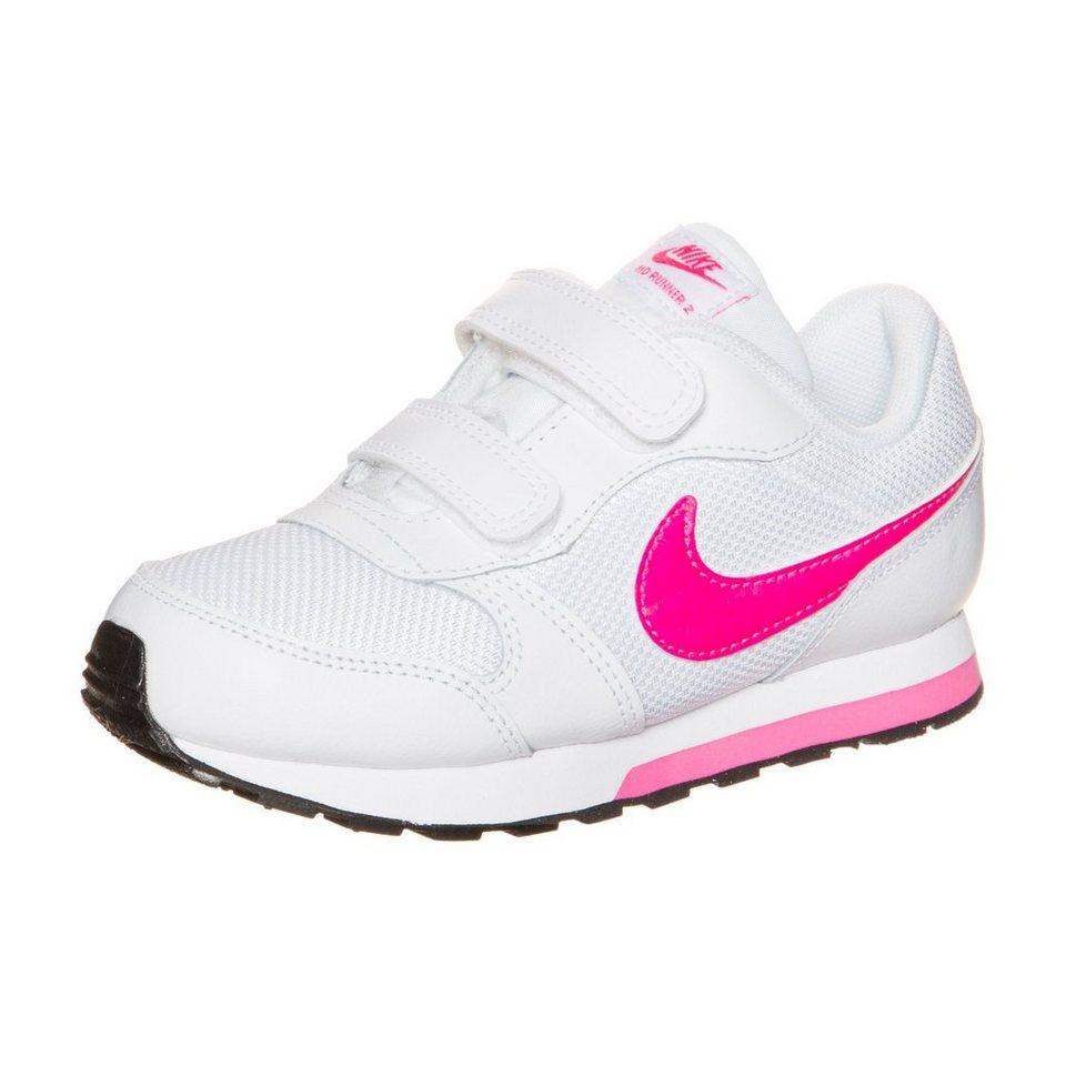 Nike Sportswear MD Runner 2 Sneaker Kleinkinder in weiß / pink