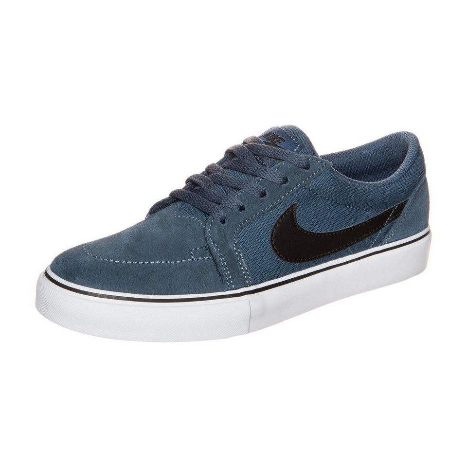 NIKE Satire II Sneaker Kinder in blau / schwarz