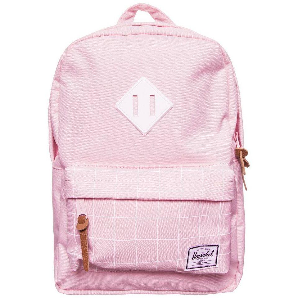 Herschel Heritage Rucksack Kinder in rosa / weiß