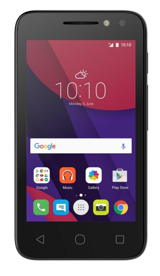 Alcatel Smartphone »PIXI 4-4 (3G) 4034D« in Schwarz