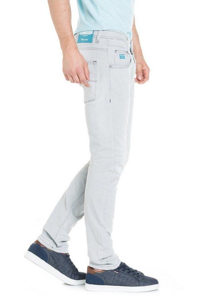 salsa jeans Jean »ER-GO« in Grey