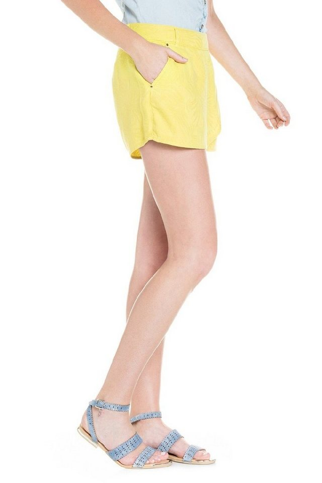 salsa jeans Kurze Hose »Shorts« in Green