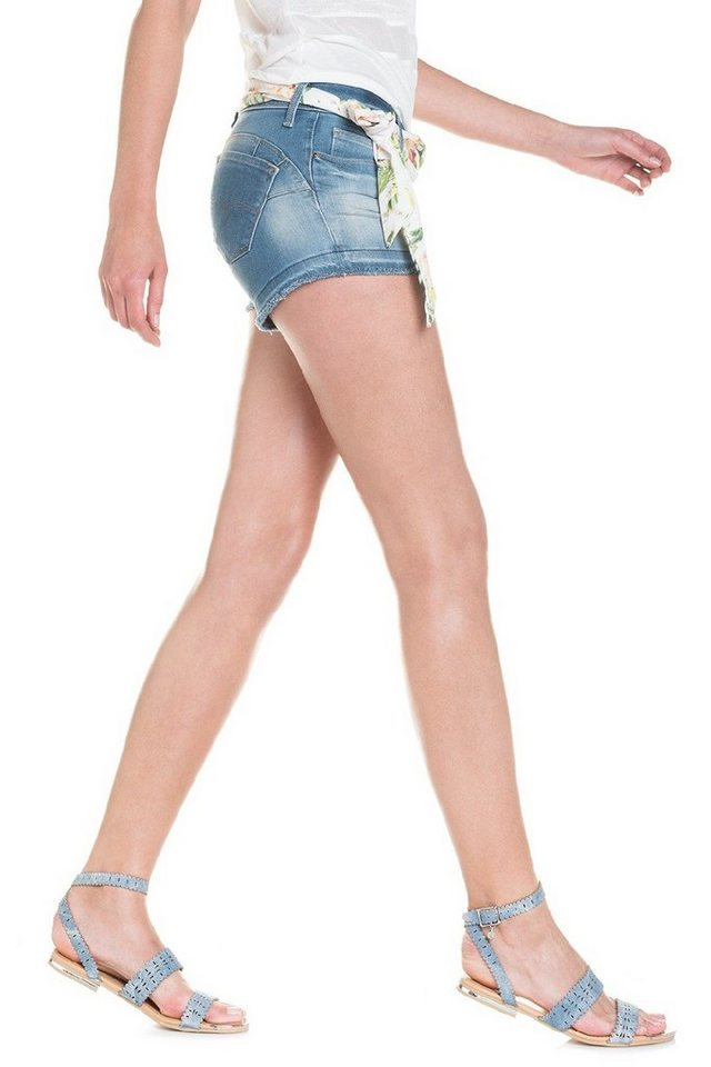 salsa jeans Kurze Hose »Shorts Push-Up« in Blue