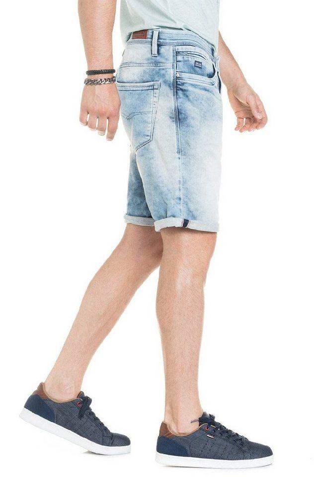 salsa jeans Kurze Hose »Brandon - calção« in Blue