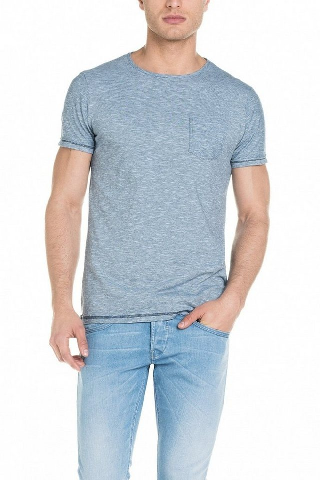 salsa jeans T-Shirt, kurzarm in Grey