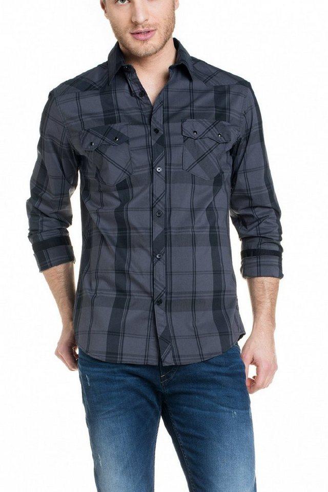 salsa jeans Hemd »DENMARK« in Black
