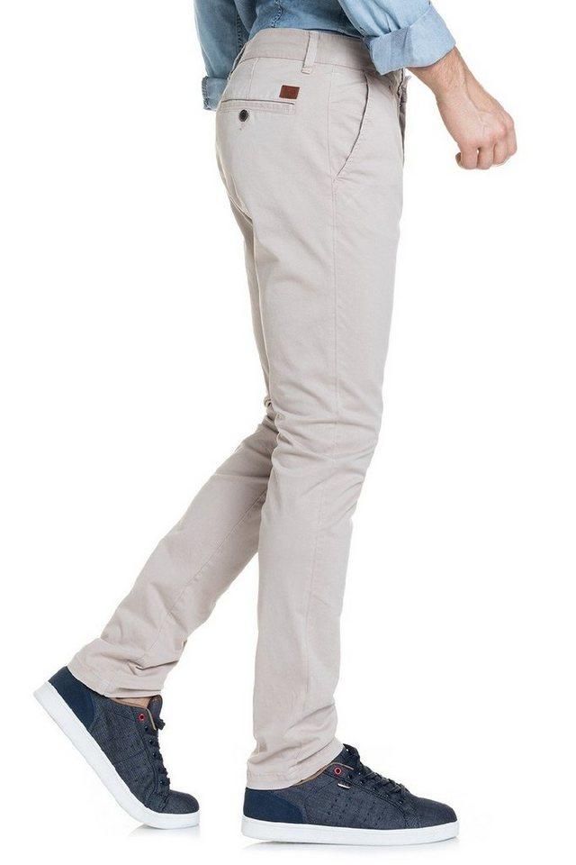 salsa jeans Hose lang »Slim Carrot/ Slender« in Nature