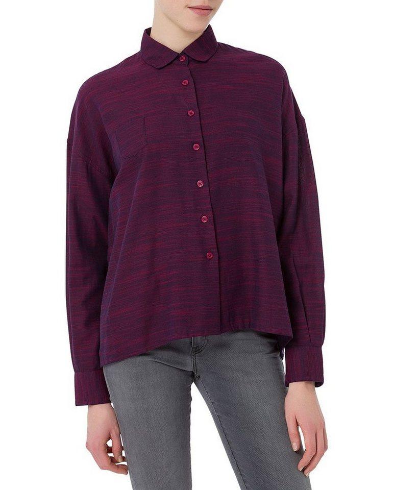 CROSS Jeans ® Blusen in maroon