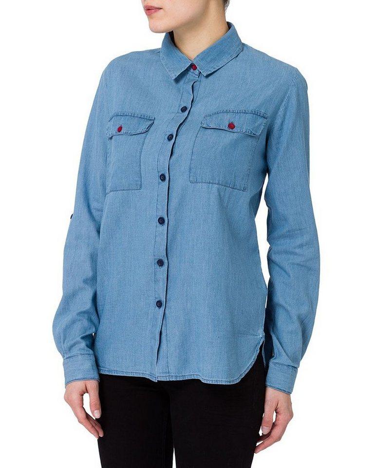CROSS Jeans ® Blusen in light blue