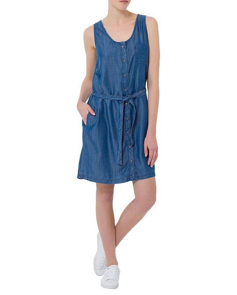 CROSS Jeans ® Kleider in shiny blue