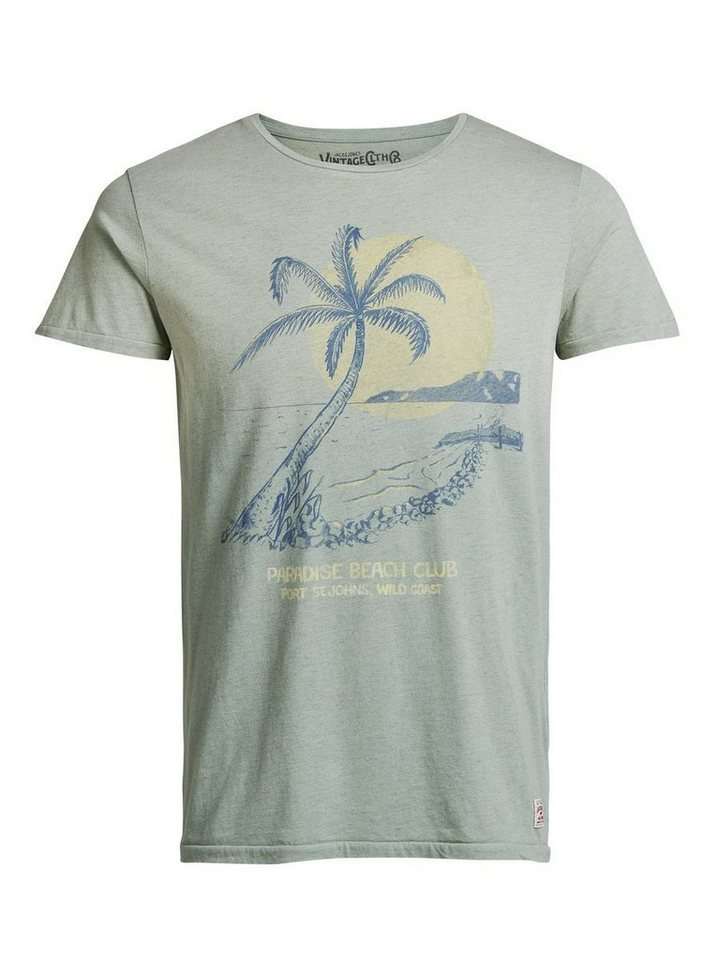 Jack & Jones Bedrucktes T-Shirt in Green Bay