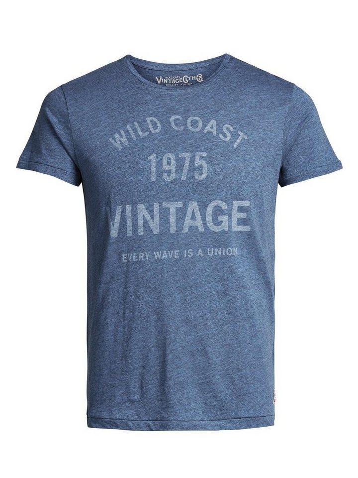 Jack & Jones Bedrucktes T-Shirt in Federal Blue
