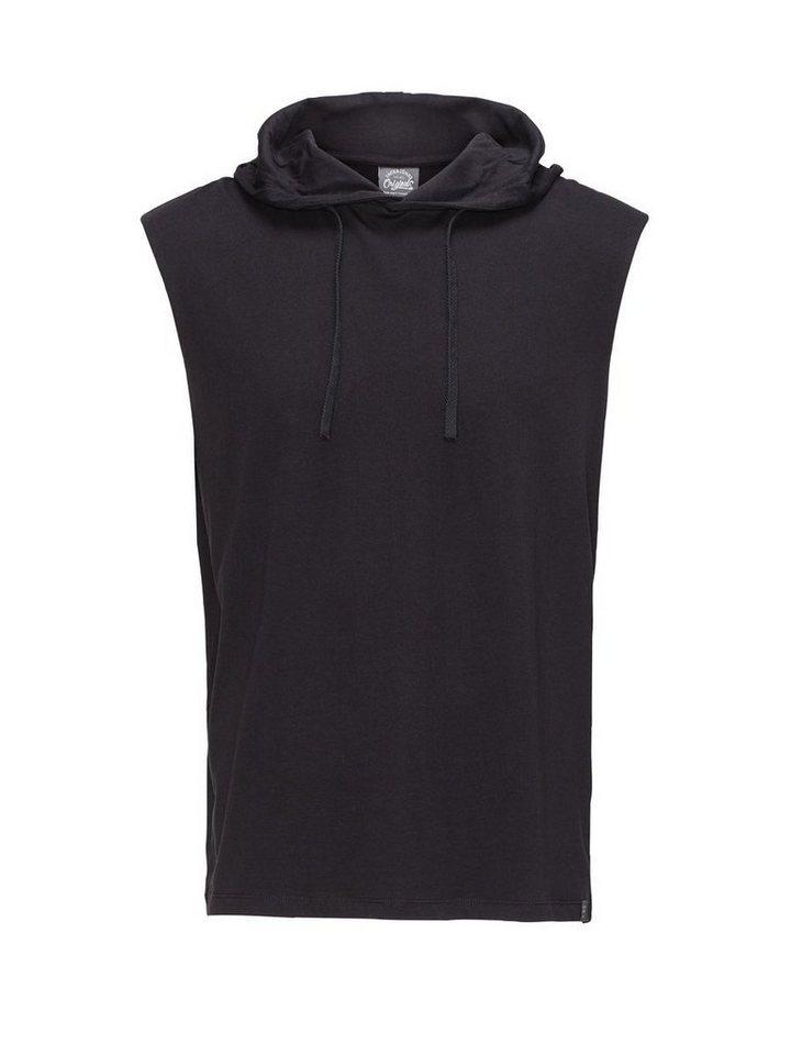 Jack & Jones Boxy-Fit-Kapuzen- Sweatshirt in Black