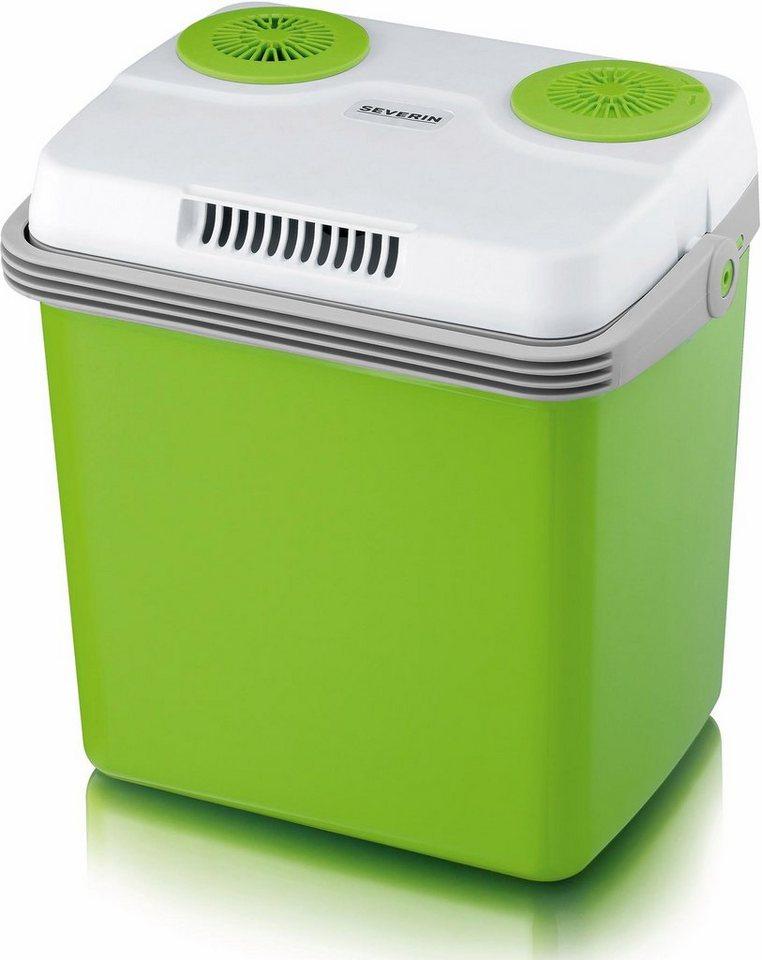 Severin Elektrische Kühlbox KB 2922, Energieklasse A++ in weiß-grün
