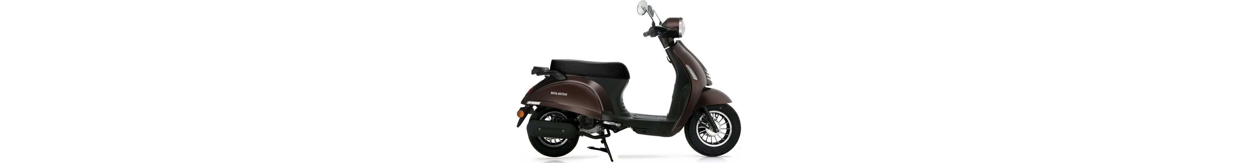 Nova Motors Motorroller, 49 ccm, 45 km/h, braun, »Grace«