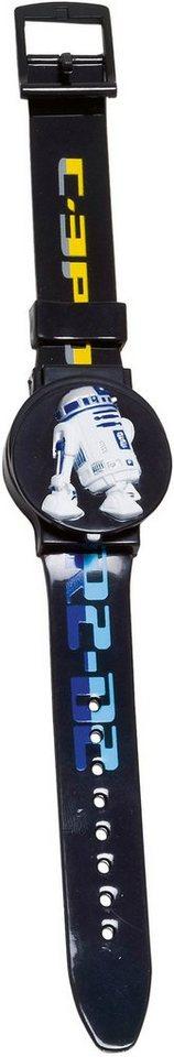Star Wars Quarzuhr »26299« mit 2 austauschbaren Abdeckungen in schwarz-bunt