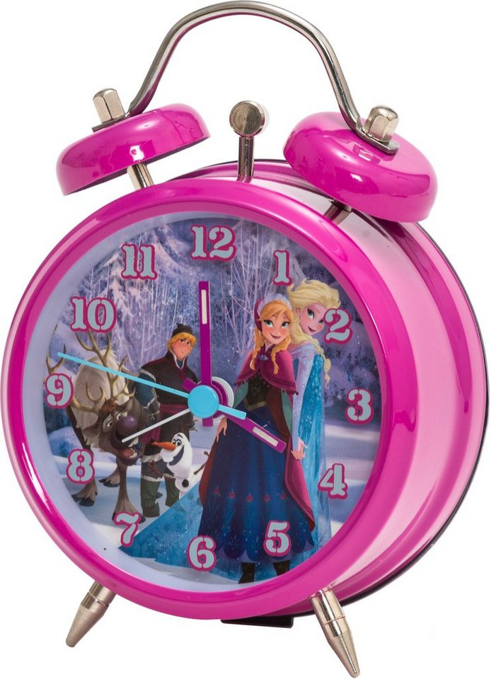 Wecker, »755408« Disney Frozen in pinkfarben