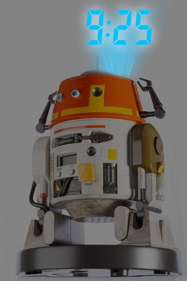 Star Wars Projektionswecker, »21356« in bunt