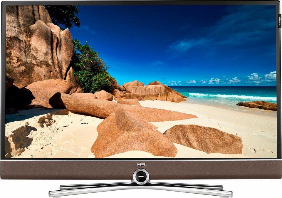 Loewe Connect 32 DR+, LED Fernseher, 81 cm (32 Zoll), 1080p (Full HD), Smart-TV in braun/schwarz