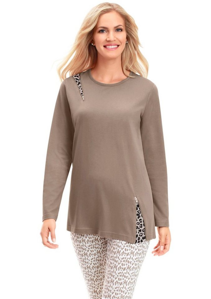 Shirt in taupe