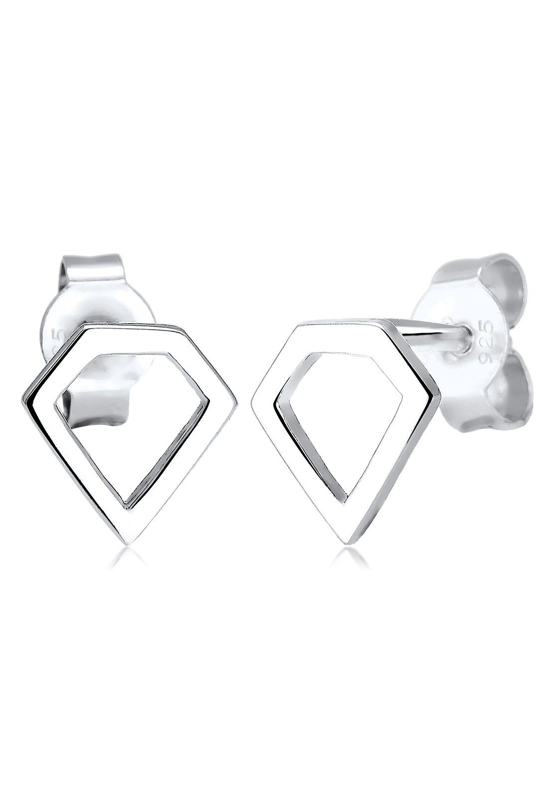 Elli Ohrringe »Diamant Geo Silber«