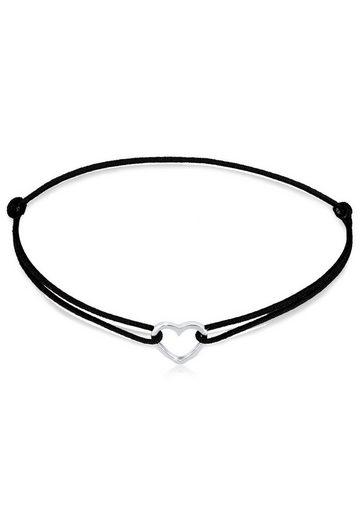 Elli Armband »Herz Liebe Filigran Symbol Liebesbeweis Silber«