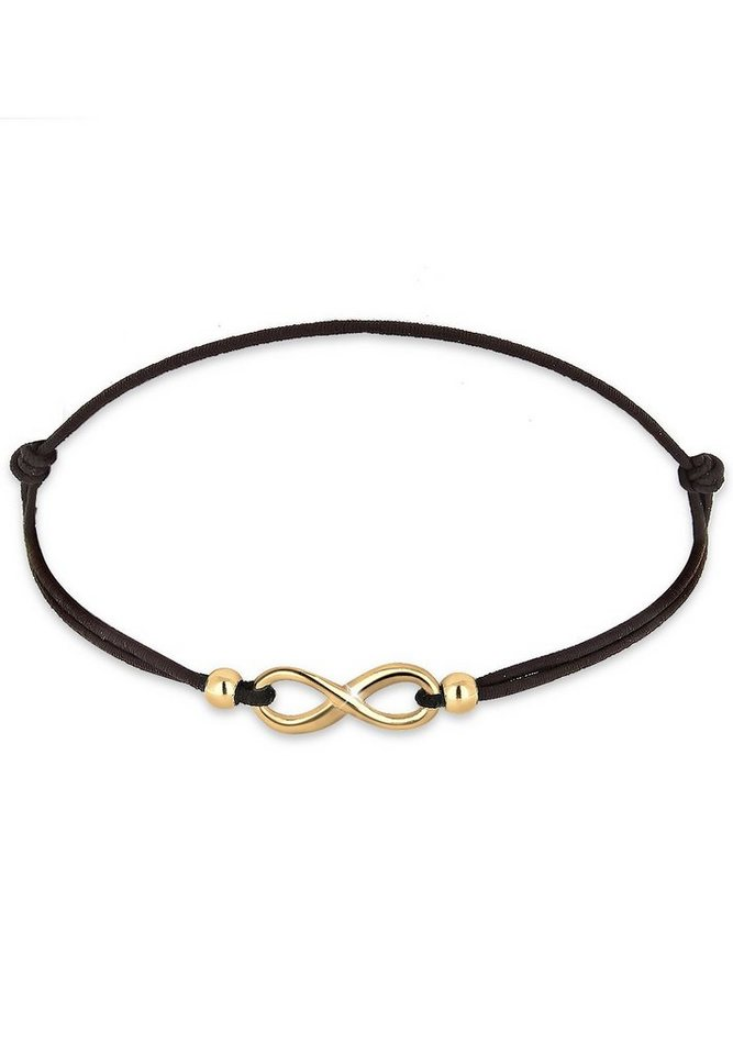 Elli Armband »Infinity vergoldet« in Gold