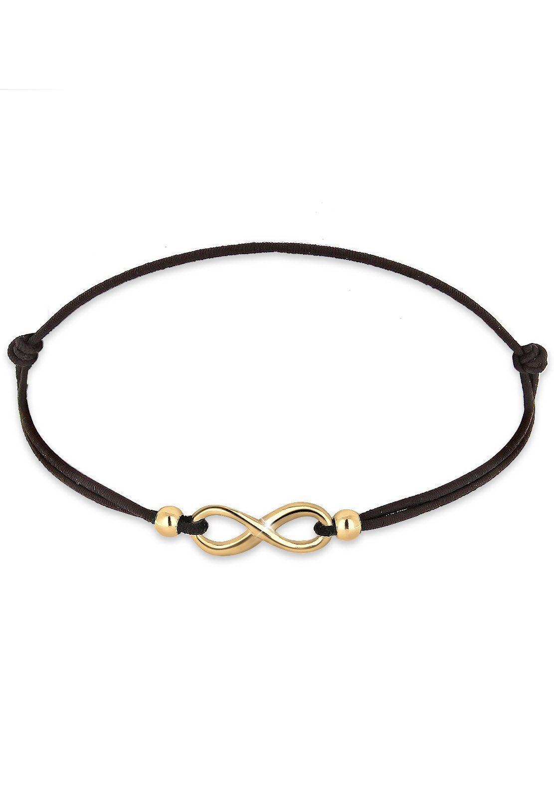 Elli Armband »Infinity vergoldet«