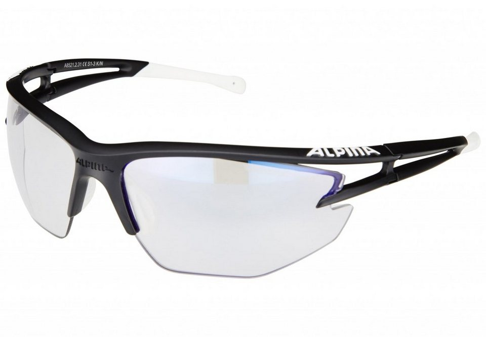 Alpina Radsportbrille »Eye-5 HR VLM+« in schwarz