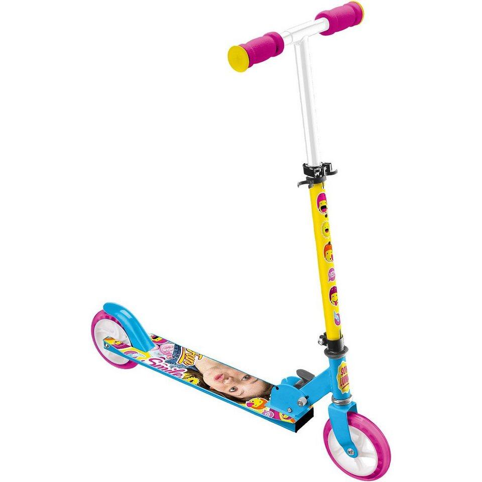 Stamp Soy Luna Scooter, klappbar in bunt