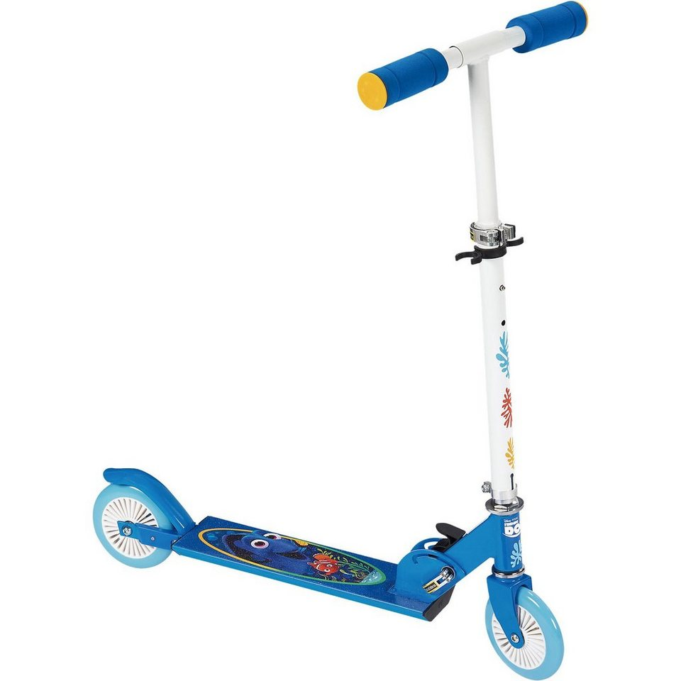 Stamp Findet Dorie Scooter, klappbar in blau