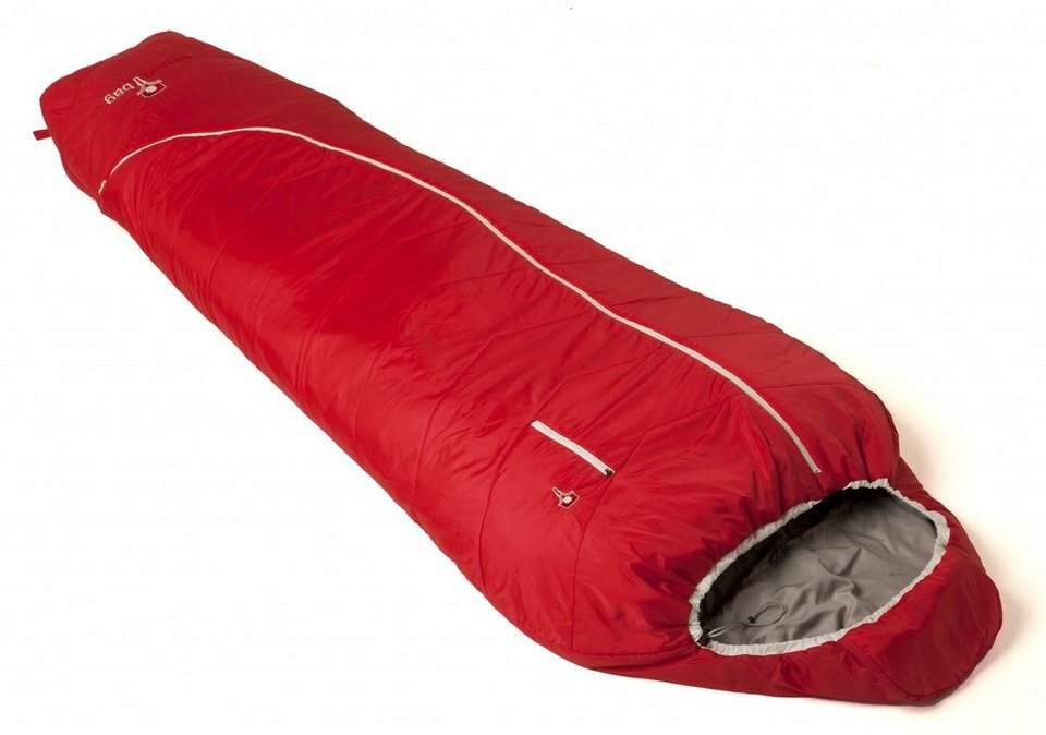 Grüezi-Bag Schlafsack »Biopod Zero Schlafsack« in rot