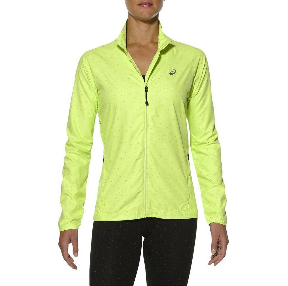 asics Trainingsjacke »Lite-Show Jacket Women« in gelb