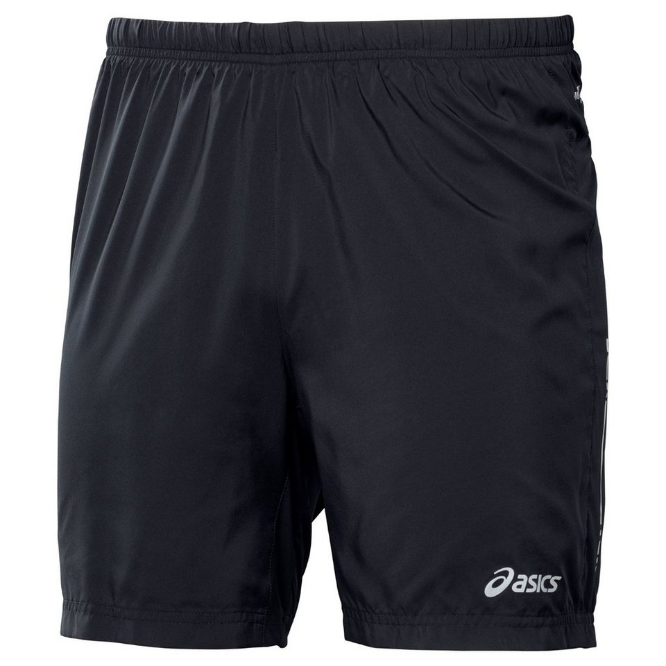 Asics Laufhose »Woven 2-in-1 Shorts Men« in schwarz
