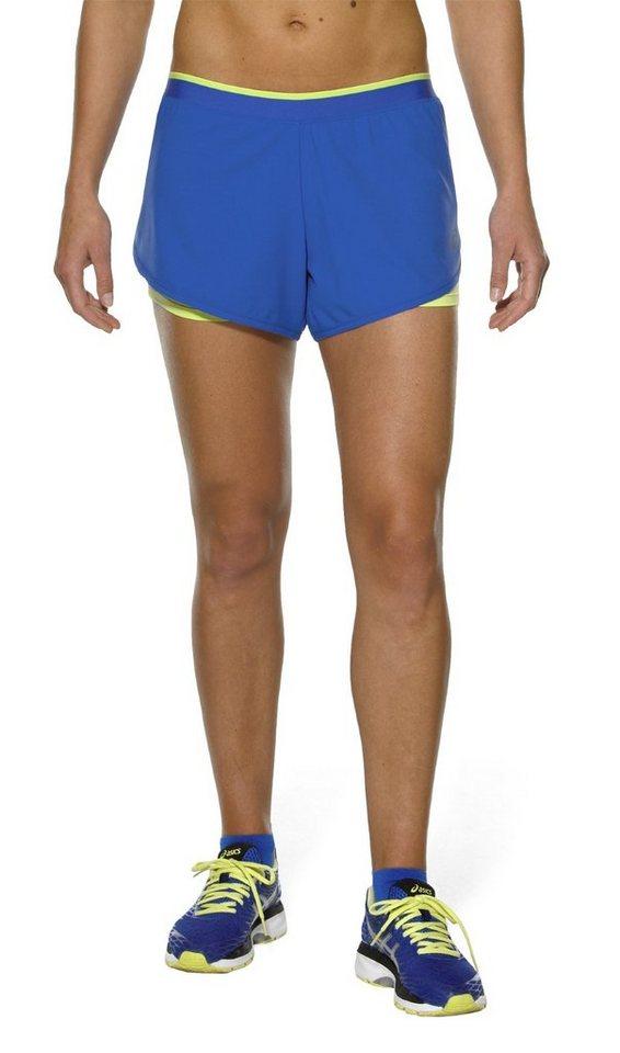 asics Jogginghose »2-in-1 3.5In Shorts Women« in blau