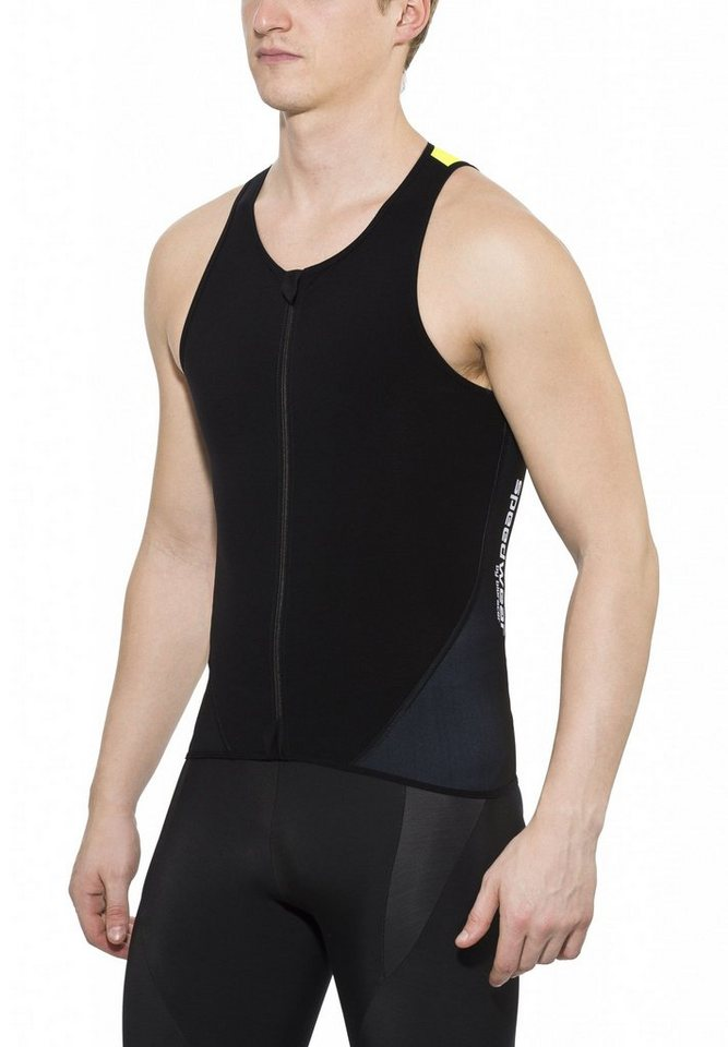 Bioracer Radtrikot »Triathlon Top Zipper Unisex« in schwarz