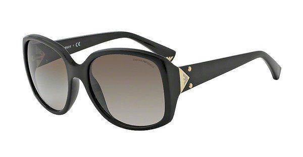 Emporio Armani Damen Sonnenbrille » EA4018« in 501713 - schwarz/braun