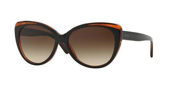 DKNY Damen Sonnenbrille » DY4125« in 363913 - schwarz/braun