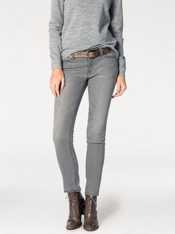 RICK CARDONA by Heine Jeans mit Formbund in grau
