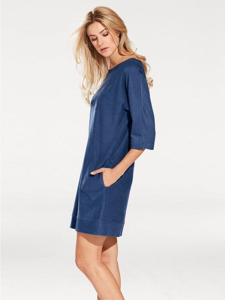 Jeanskleid in jeansblau