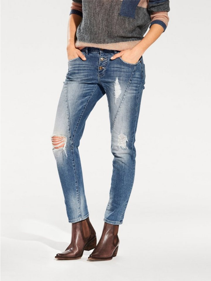 B.C. BEST CONNECTIONS by Heine Jeans in blue denim