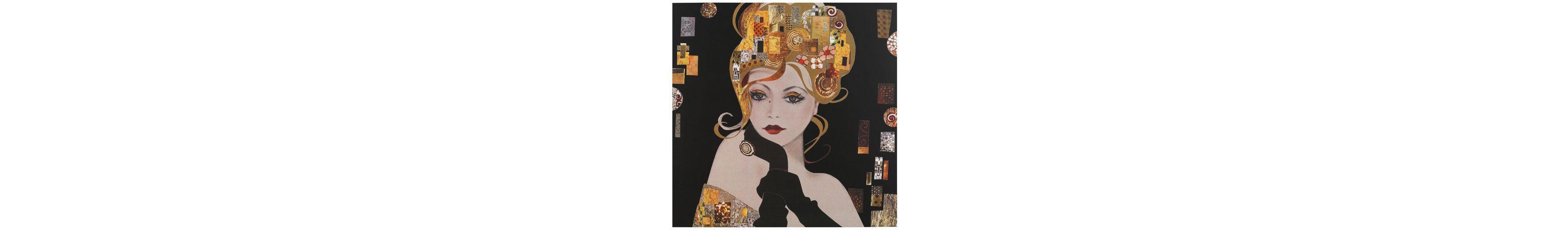 Home affaire, Oversize-Bild »Spirit Blondes Mädchen«, 115/115 cm