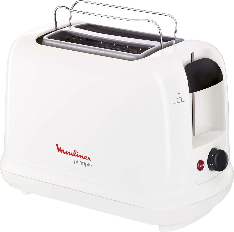 Moulinex Toaster Principio LT1611, für 2 Scheiben, 850 W