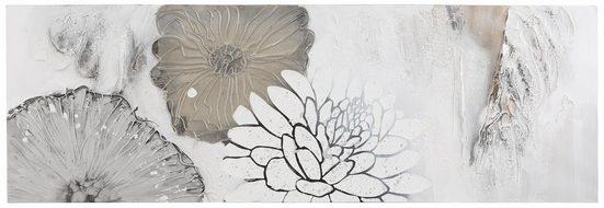 Schneider Bild »Blüten Mix«, mit Acrylfarbe auf Leinwand gemalt