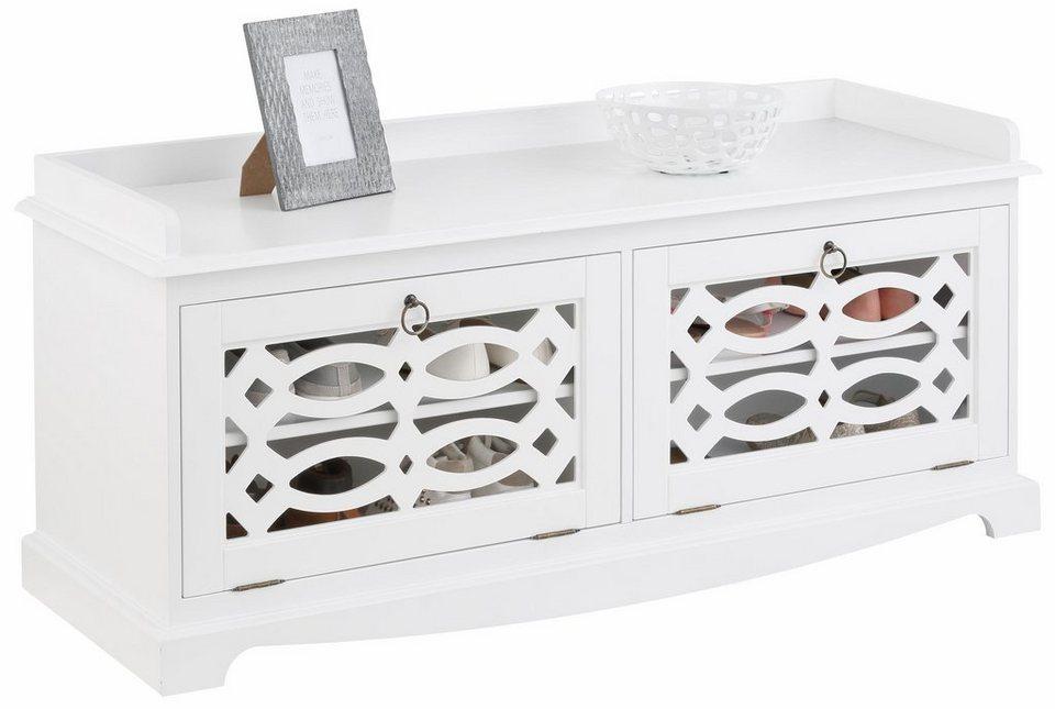 Home affaire Bank »Elegant« in weiß