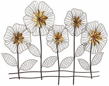 Home affaire wanddeko blumenwiese online kaufen otto - Goldene wanddeko ...
