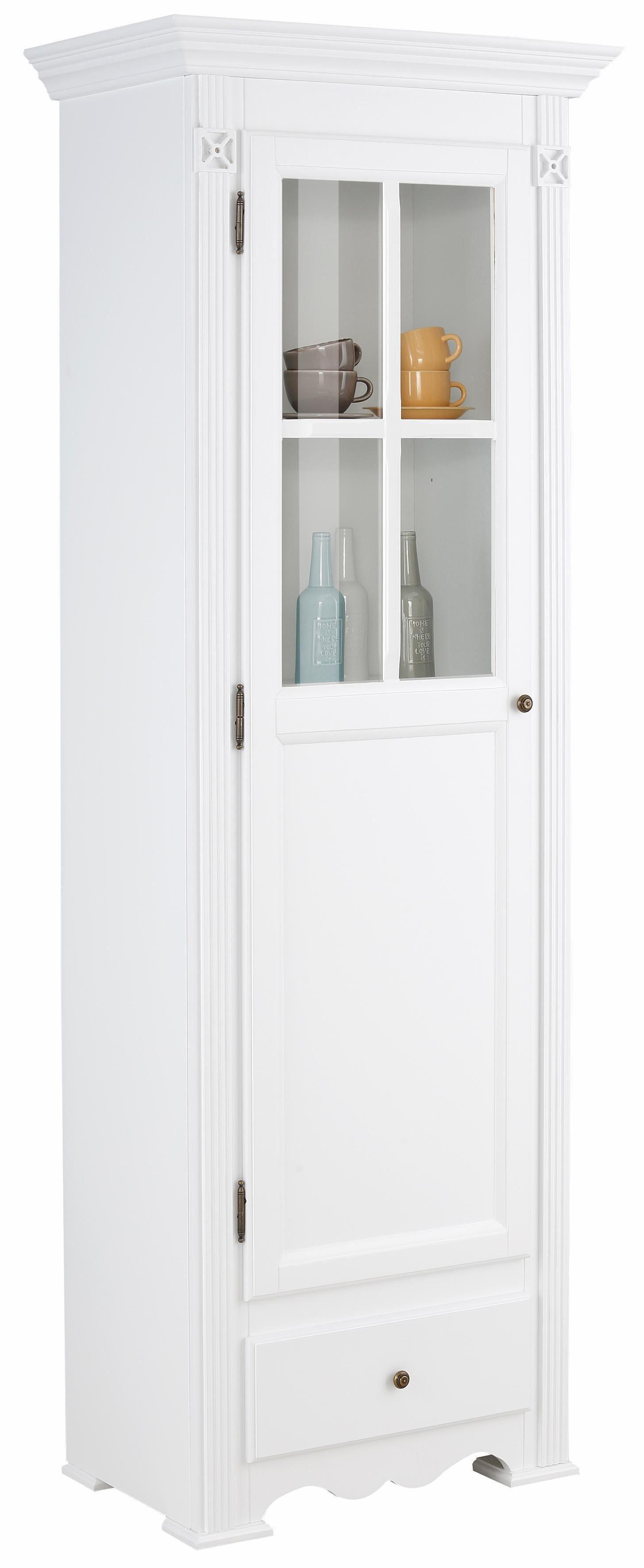 Home affaire Vitrine »Romantic«, 1trg., Höhe 200 cm